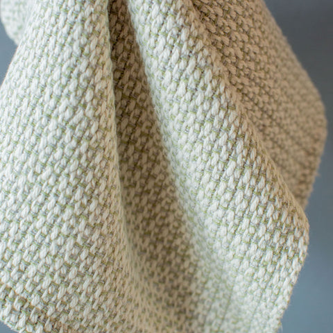 Celadon Green Handwoven Kitchen Towel
