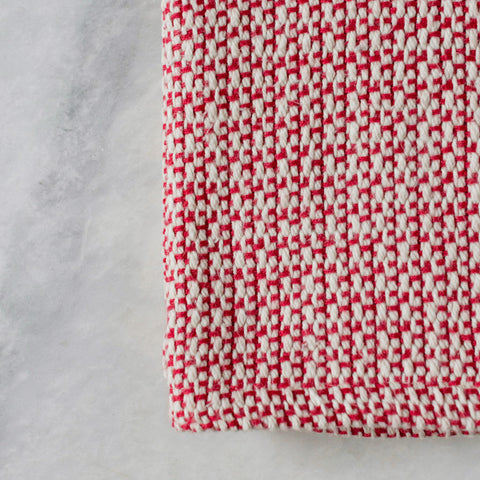 Red Currant Handwoven Kitchen Towel