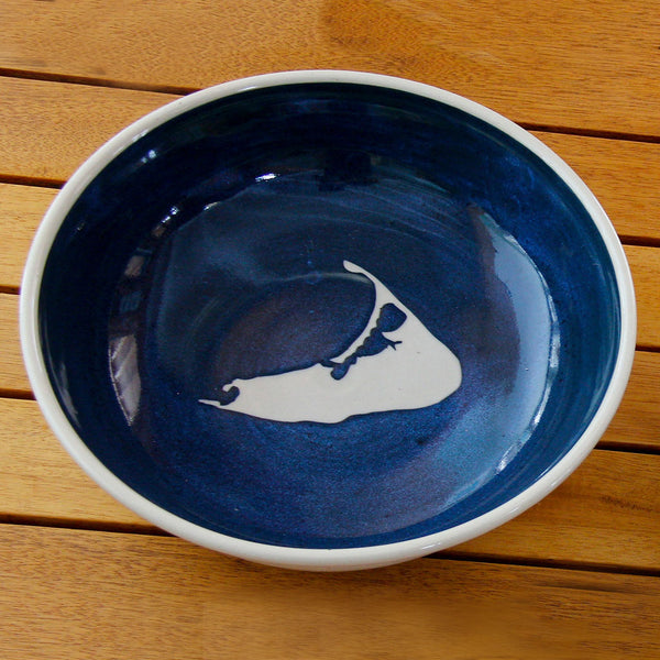 Handcrafted Nantucket Bowl by Emily Johnson