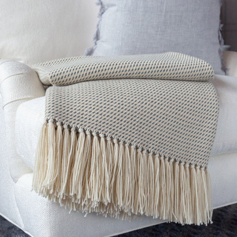 Breakwater Gray Alpaca Throw