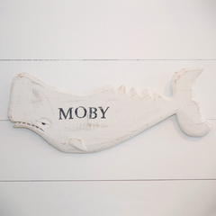Moby Wood Carving by Mike Bacle