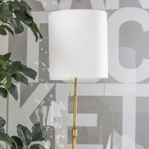 Brushed Bronze Lamp