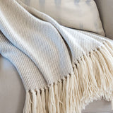 Mist Gray Alpaca Throw