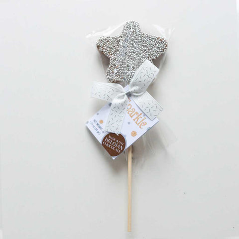 Belgian Chocolate Star Lollipop
