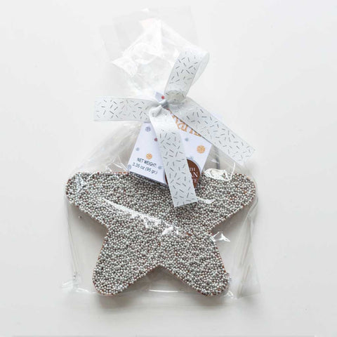 Belgian Chocolate Silver Star