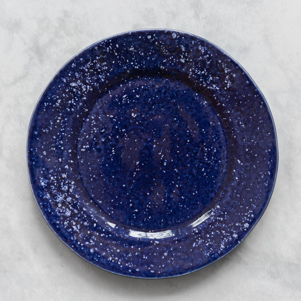 Speckled Indigo Dinner Plate