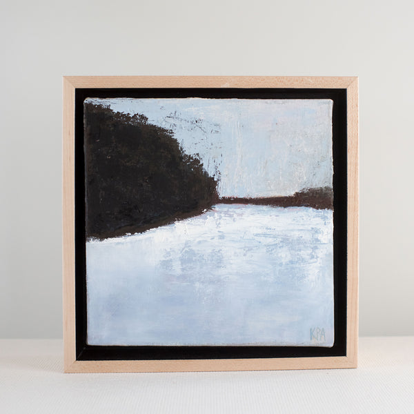 Frozen Pond | Kate Pelletier Andrews