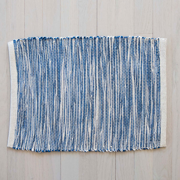 Nautical Blue Handwoven Placemat