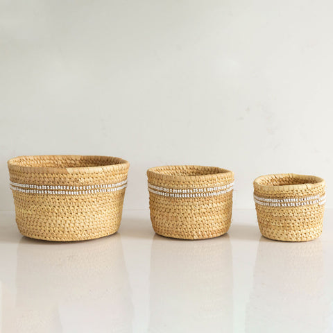 Nomadic Woven Basket Collection