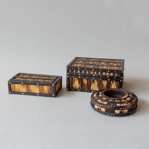 Antique Quill Boxes
