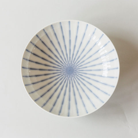 Periwinkle Blue Wisp Serving Bowl