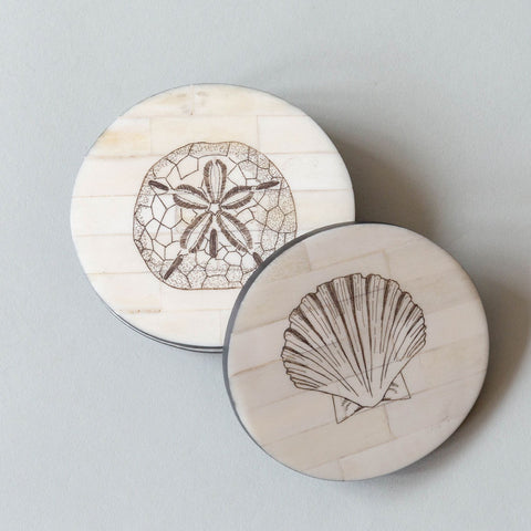 Faux Bone Coasters