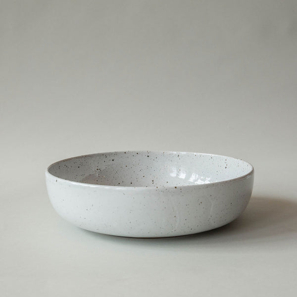 Salt Glaze Serving Bowl