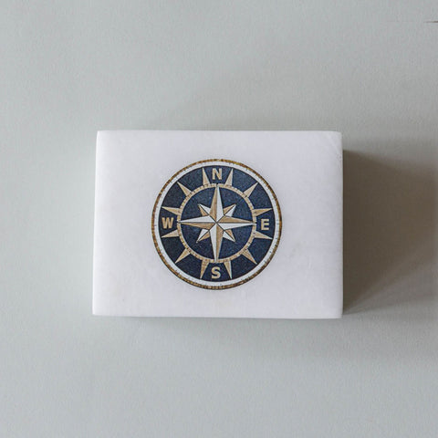 Soap Stone Compass Box
