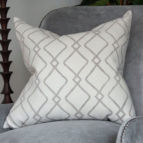 Geo Diamond Pillow