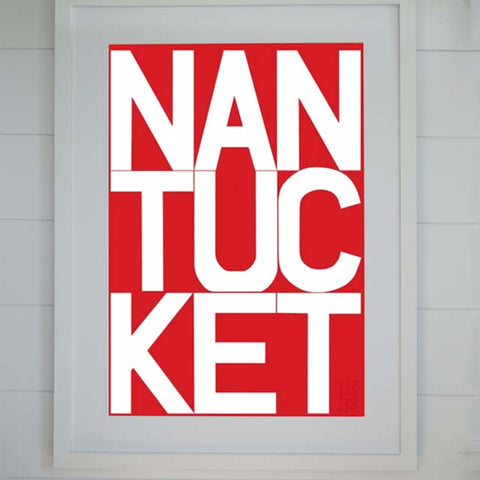 Lightship Red Nantucket Archival Print | Liz Roache