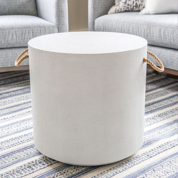 Rope Handle Side Table