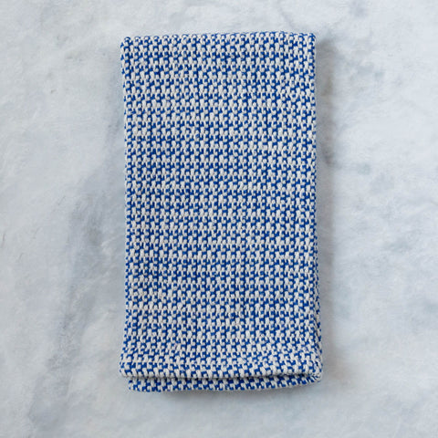Royal Blue Handwoven Kitchen Towel