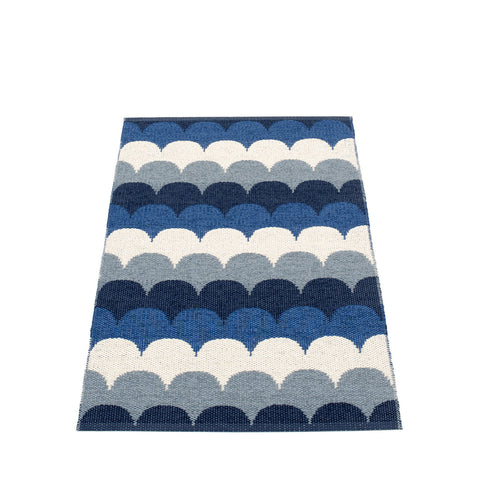 Blue Scallop Mat