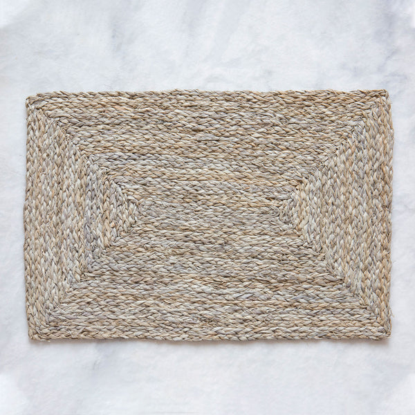 Gray Sea Grass Placemats