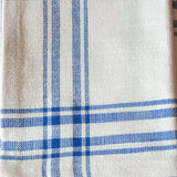 Oyster Plaid Dinner Napkin