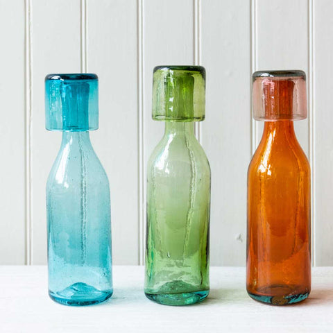 Glass Blown Carafe