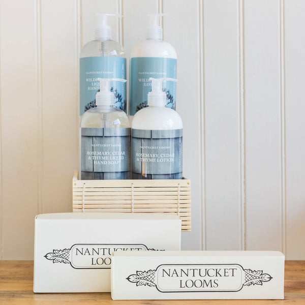 Nantucket Looms Deluxe Soap Gift Basket