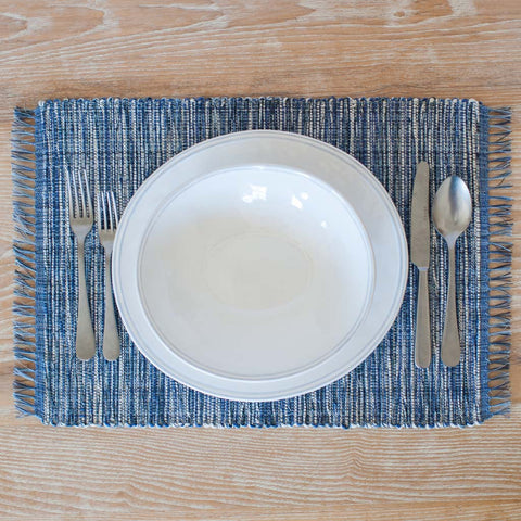 Hydrangea Blue Placemats