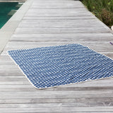 Star Spangled Canvas Beach Blanket