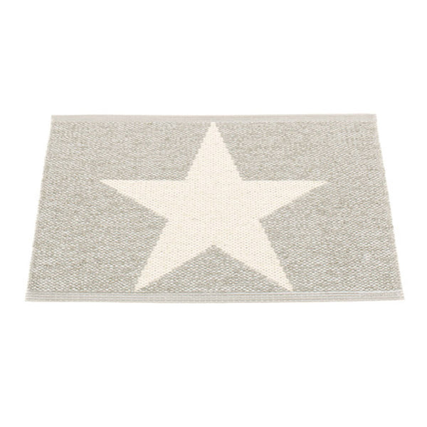 Luster Gray Star Mat