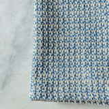 Washashore Blue Handwoven Kitchen Towel