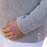 Gray Boatneck Sweater