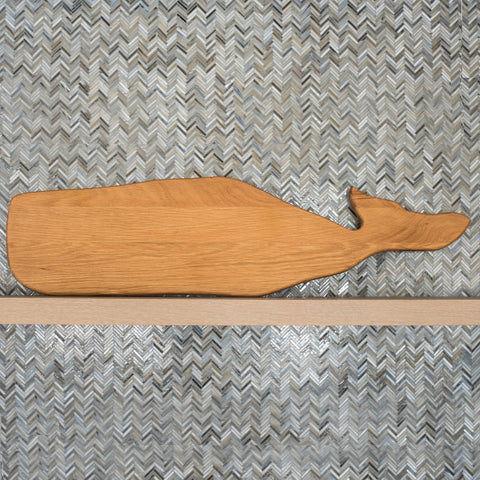 Wooden Whale Cutting Board