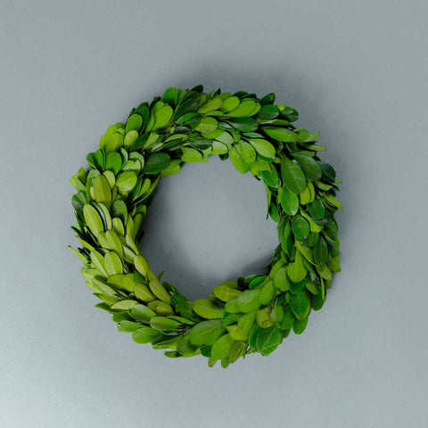 Faux Boxwood Mini Wreath