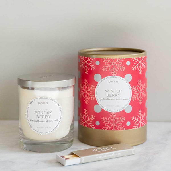 Winter Berry Candle Set