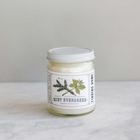 Mint & Evergreen Candle