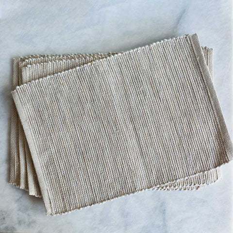 New Neutral Handwoven Placemat