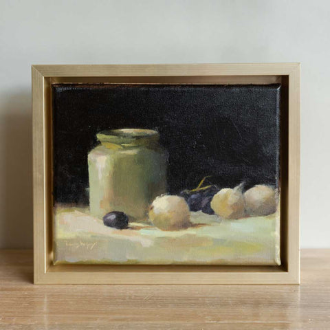 Jar with White Onions | Nancy McGivney