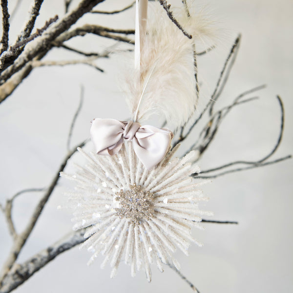Feather Flake Ornament