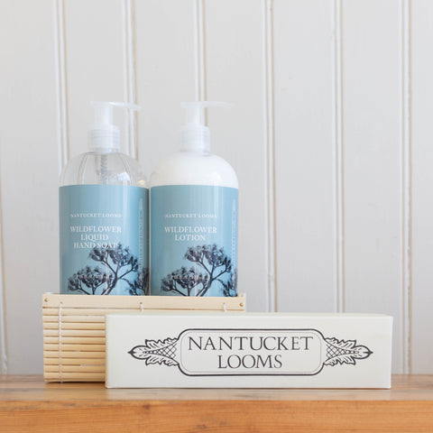 Nantucket Looms Wildflower Gift Basket