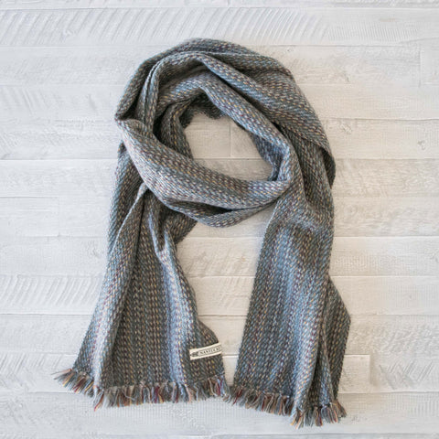 Harvest Tweed Handwoven Cashmere Scarf