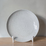 Salt Glaze Serving Round Platter