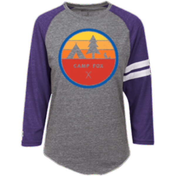 Camp Fox Heathered Vintage T-Shirt