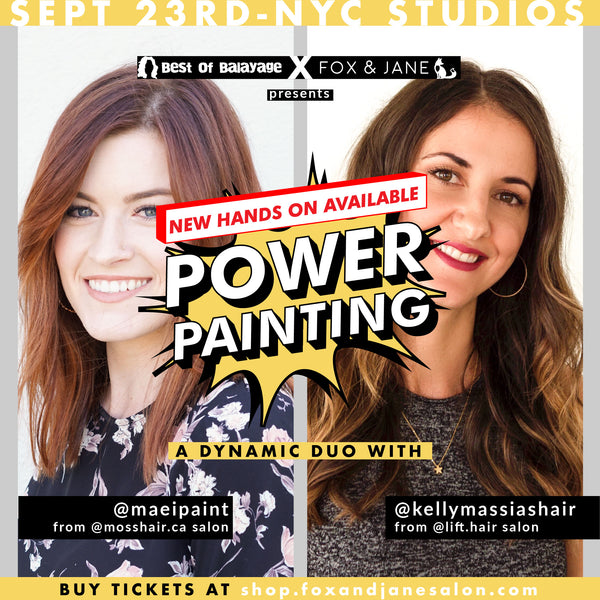 September 23rd: POWER PAINTING