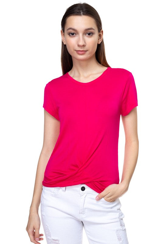 Hot Pink Kara Top