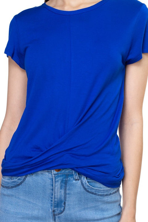 Royal Blue Kara Top