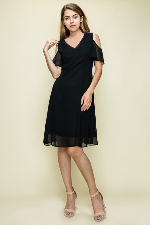 Black Harmony Dress