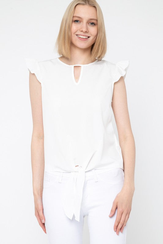 White Jayla Top