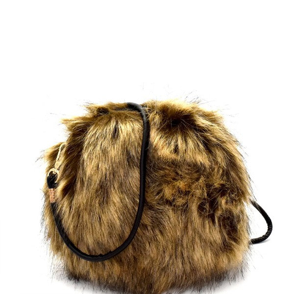 Disc Fur Bag