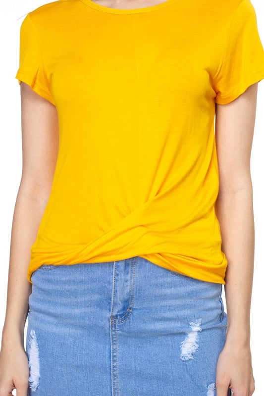 Yellow Kara Top